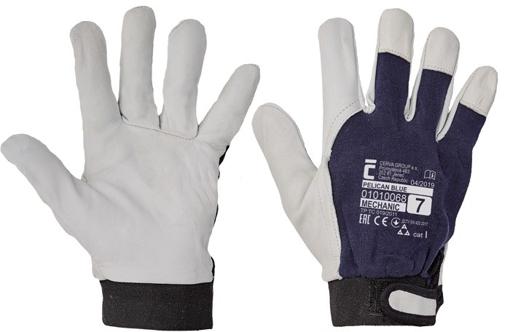 Obrázek z Červa PELICAN BLUE Pracovní rukavice