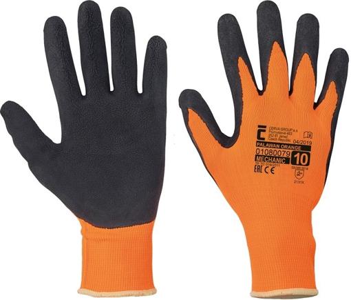 Obrázek z Červa PALAWAN ORANGE Pracovní rukavice - 120 párů