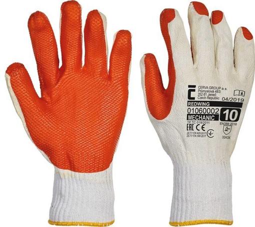 Obrázek z Červa REDWING Pracovní rukavice - 120 párů