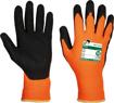 Obrázek z Free Hand BUBO oranžová-černá Pracovní rukavice