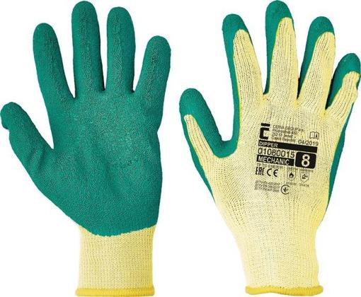 Obrázek z Červa DIPPER Pracovní rukavice zelená