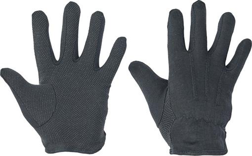 Obrázek z Červa BUSTARD Pracovní rukavice černá