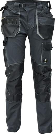 Obrázek z Červa DAYBORO Pracovní kalhoty do pasu antracit / šedá