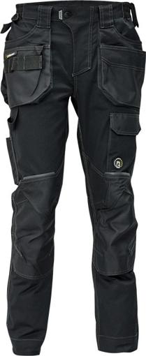 Obrázek z Červa DAYBORO Pracovní kalhoty do pasu černá / antracit