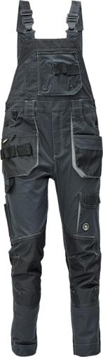 Obrázek z Červa DAYBORO Pracovní kalhoty s laclem antracit / šedá