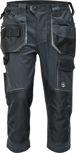 Obrázek z Červa DAYBORO Pracovní 3/4 kalhoty antracit / šedá