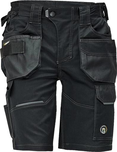 Obrázek z Červa DAYBORO Pracovní šortky černá / antracit