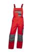 Obrázek z 2STRONG Pracovní kalhoty s laclem červené