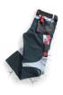 Obrázek z R8ED+ Pracovní kalhoty do pasu černé prodloužené