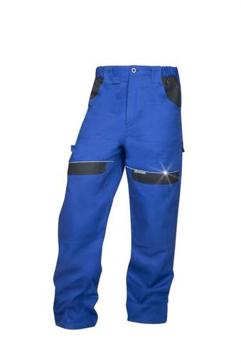 Obrázek z COOL TREND Pracovní kalhoty do pasu modrá / černá - prodloužené