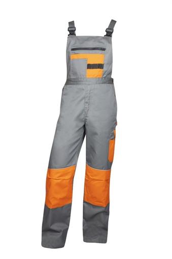 Obrázek z 2STRONG Pracovní kalhoty s laclem šedé