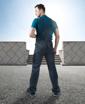 Obrázek z 4TECH Pracovní kalhoty s laclem šedo-černé prodloužené