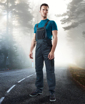 Obrázek z 4TECH Pracovní kalhoty s laclem šedo-černé