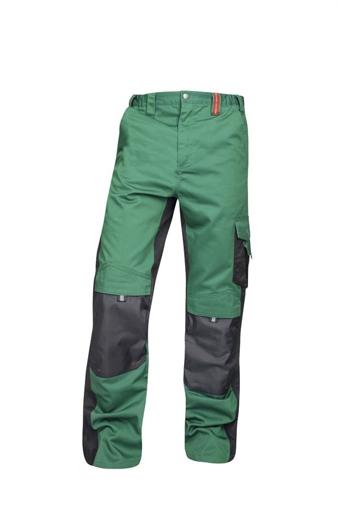 Obrázek z PRE100 Pracovní kalhoty do pasu zelené