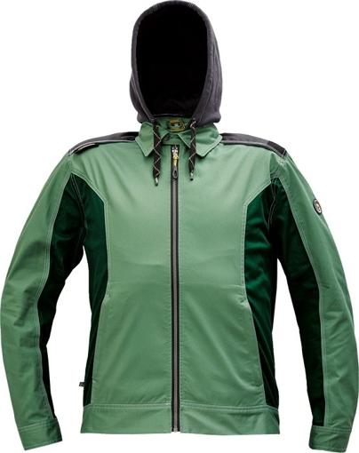 Obrázek z Červa DAYBORO Pracovní bunda mechově zelená / černá