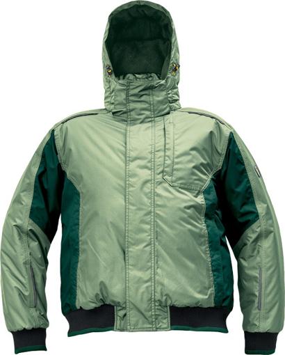Obrázek z Červa DAYBORO PILOT Pracovní bunda zimní mechově zelená / černá