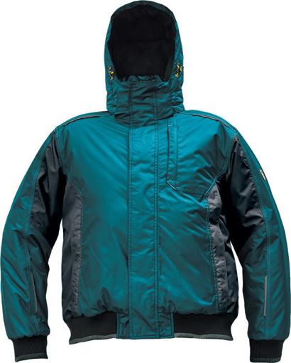 Obrázek z Červa DAYBORO PILOT Pracovní bunda zimní petrolejová / černá