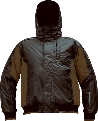 Obrázek z Červa DAYBORO PILOT Pracovní bunda zimní tm. hnědá / hnědá