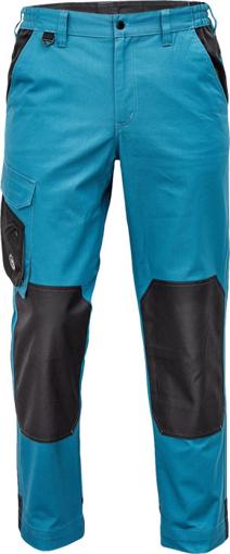 Obrázek z Červa CREMORNE Pracovní kalhoty do pasu petrolejová / černá