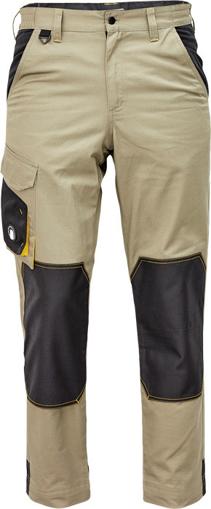 Obrázek z Červa CREMORNE Pracovní kalhoty do pasu olivová / černá