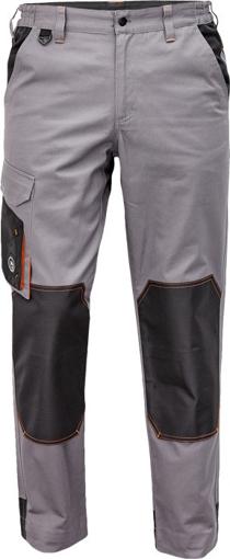 Obrázek z Červa CREMORNE Pracovní kalhoty do pasu šedá / černá