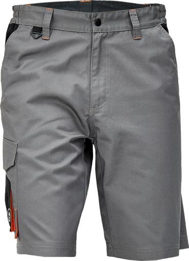 Obrázek z Cerva CREMORNE Pracovní šortky šedá / černá
