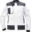 Obrázek z Cerva CREMORNE Pracovní bunda bílá / šedá