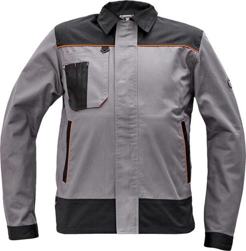Obrázek z Cerva CREMORNE Pracovní bunda šedá / černá