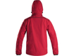 Obrázek z CXS DURHAM Pánská softshellová bunda červeno / černá