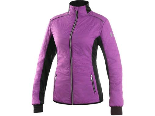 Obrázek z CXS SALEM Dámská bunda fialovo / černá
