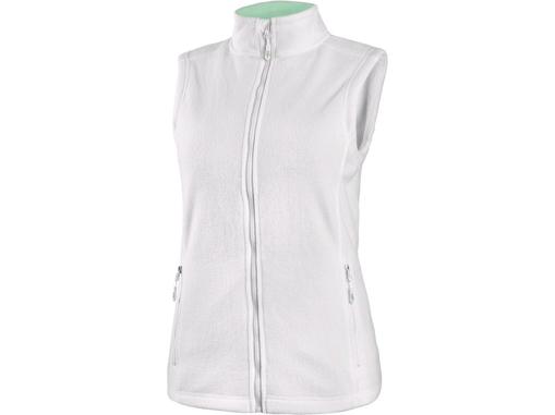 Obrázek z CXS MILFORD Dámská fleecová vesta bílá