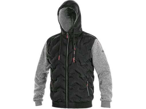Obrázek z CXS FLINT Pánská bunda černo / šedá