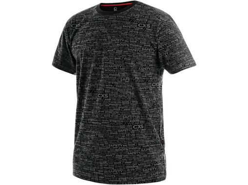 Obrázek z CXS DARREN Pánské tričko černé