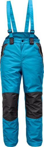 Obrázek z Cerva CREMORNE Pracovní kalhoty zimní petrolejová / černá