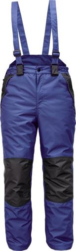 Obrázek z Cerva CREMORNE Pracovní kalhoty zimní tm. modrá / černá
