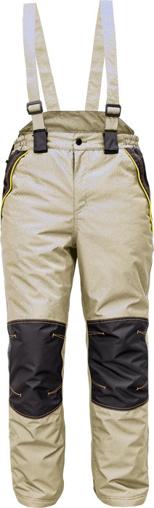 Obrázek z Cerva CREMORNE Pracovní kalhoty zimní olivová / černá