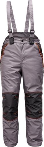 Obrázek z Cerva CREMORNE Pracovní kalhoty zimní šedá / černá