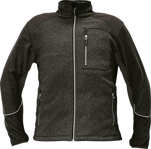 Obrázek z Cerva BOYER Pánský svetr černý