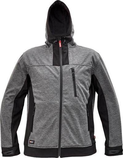 Obrázek z Cerva HUYER Pánská softshellová bunda šedá