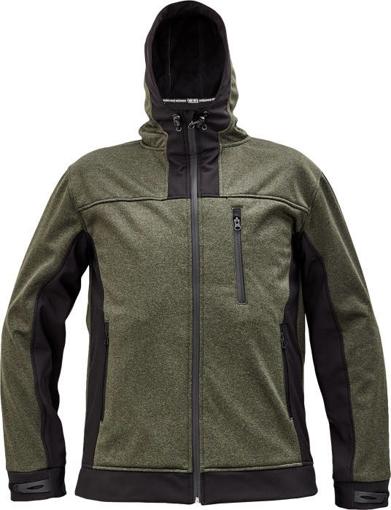 Obrázek z Cerva HUYER Pánská softshellová bunda olivová