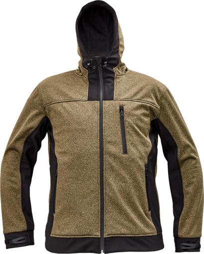 Obrázek z Cerva HUYER Pánská softshellová bunda béžová