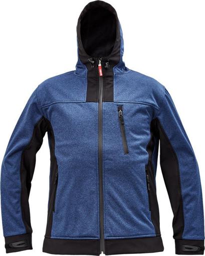 Obrázek z Cerva HUYER Pánská softshellová bunda modrá