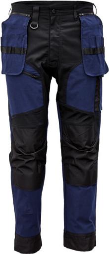 Obrázek z Cerva KEILOR Pracovní kalhoty do pasu navy