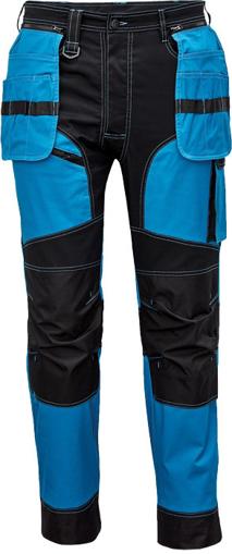 Obrázek z Cerva KEILOR Pracovní kalhoty do pasu modré