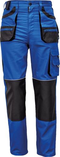 Obrázek z Fridrich & Fridrich CARL BE-01-003 Pracovní kalhoty do pasu modré