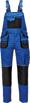 Obrázek z Fridrich & Fridrich CARL BE-01-004 Pracovní kalhoty s laclem modré