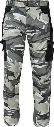 Obrázek z CRV CRAMBE Pánské kalhoty do pasu šedá kamufláž