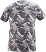 Obrázek z CRV CRAMBE Pánské tričko šedá kamufláž