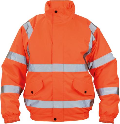 Obrázek z Cerva CLOTON HV PILOT Reflexní zimní bunda oranžová