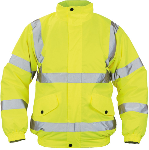 Obrázek z Cerva CLOTON HV PILOT Reflexní zimní bunda žlutá